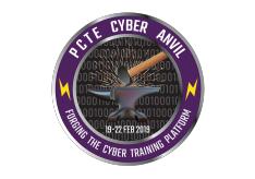 PCTE Cyber Anvil logo