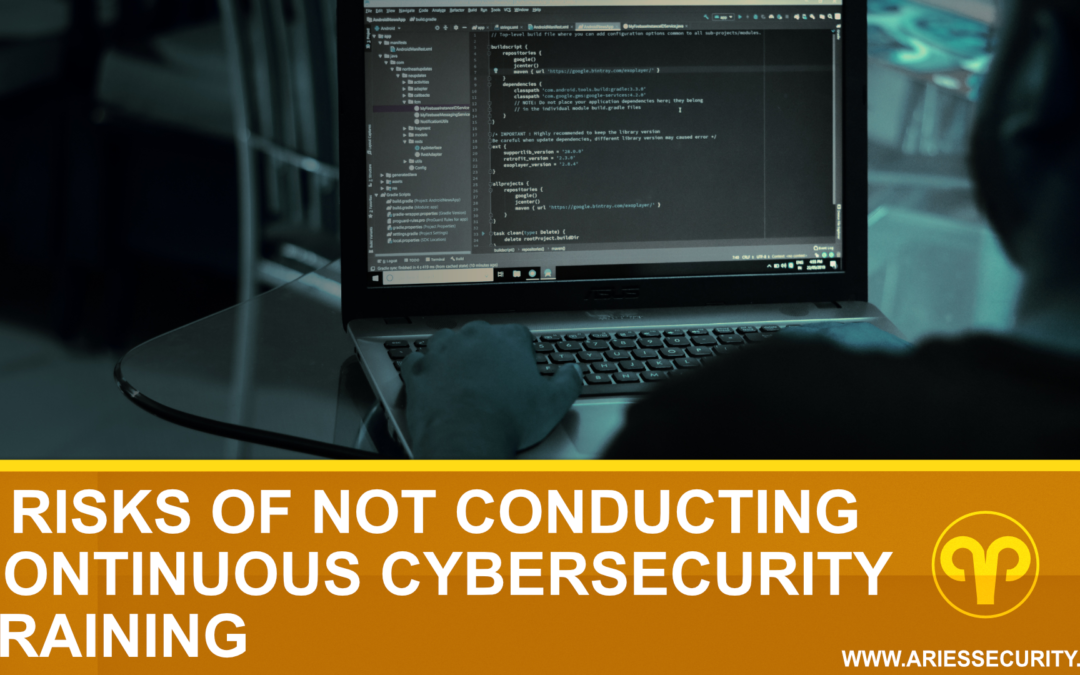 6 Risks of Not Conducting Continuous Cybersecurity Training
