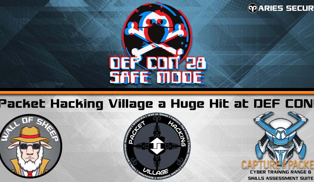 Packet Hacking Village a Huge Hit at DEF CON!