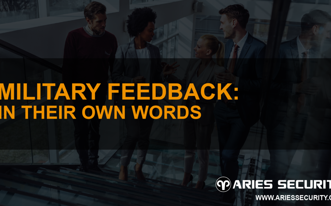 Military Feedback: In Their Own Words
